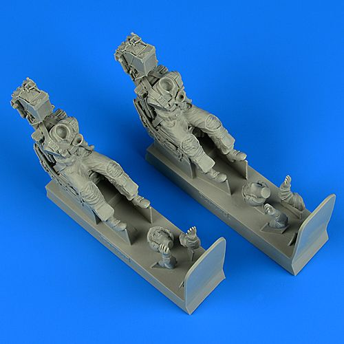 Aerobonus 1/32 US Navy Pilot & Operator with Ejection Seats for F-14A/F-14B Tomcat # 320110