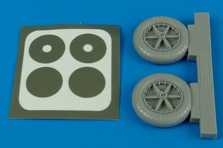 Aires 1/32 Bf 109 E wheels # 2090