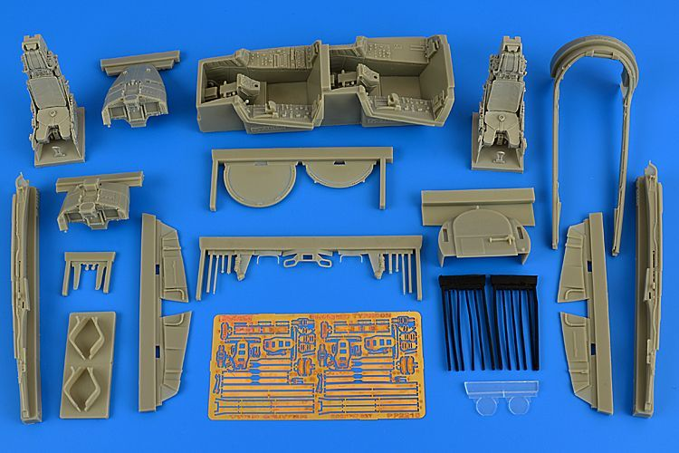 Aires 1/32 Eurofighter EF-2000B Typhoon Twin Seater Cockpit Set # 2216