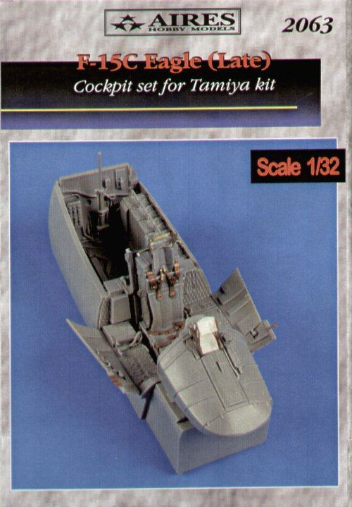 Aires 1/32 F-15C Eagle late cockpit set # 2063