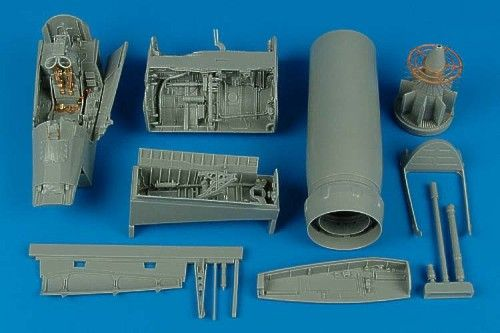 Aires 1/32 F-8E/II Crusader Detail Set # 2110