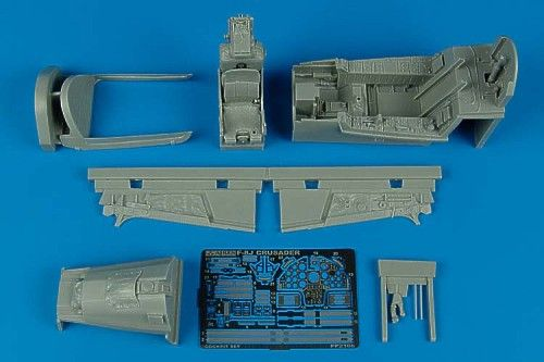Aires 1/32 F-8J Crusader cockpit set # 2106