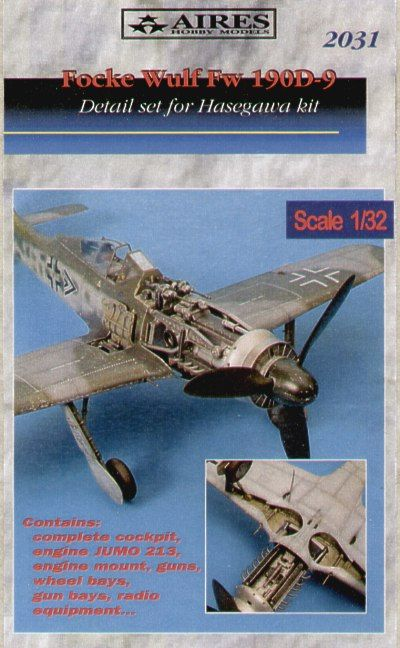 Aires 1/32 Focke-Wulf Fw-190D-9 detail set # 2031