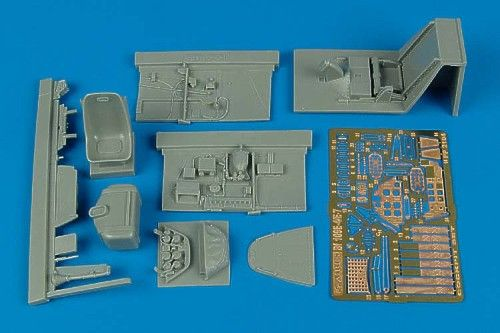 Aires 1/32 Messerschmitt Bf109E-4/E-7 Cockpit Set # 2104