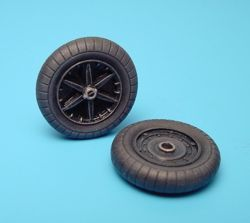 Aires 1/32  Messerschmitt Bf109F Wheels # 2005
