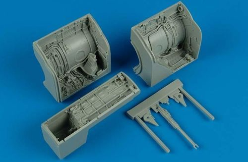 Aires 1/32 MiG-23 Flogger Wheel Bay # 2133