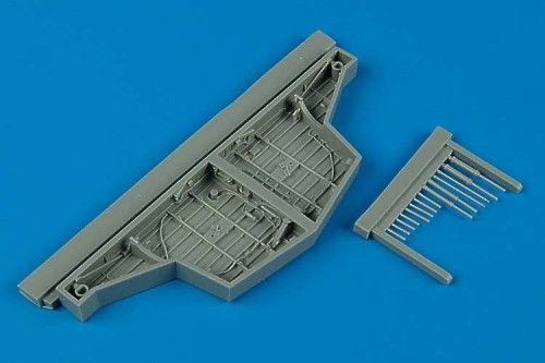 Aires 1/48 Hawker Sea Fury FB.11 Wheel Bay # 4452