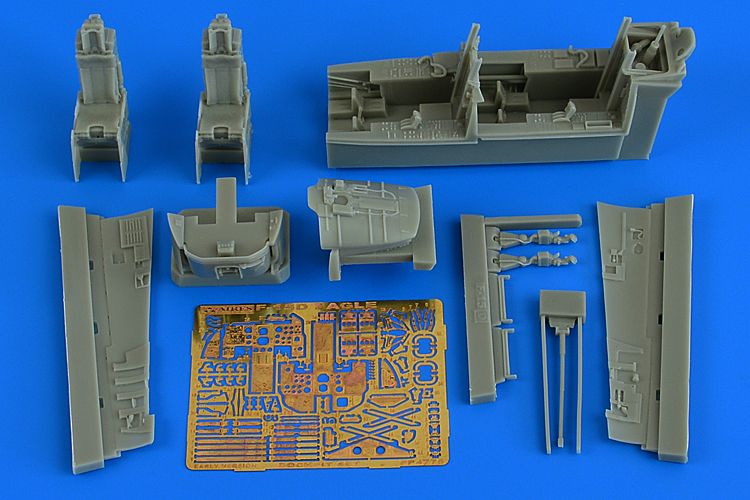 Aires 1/48 McDonnell F-15D Eagle Cockpit Set (Early Version) # 4775
