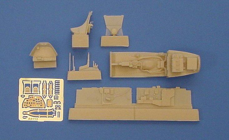 Aires 1/48  P-38J Lightning Cockpit Set # 4113