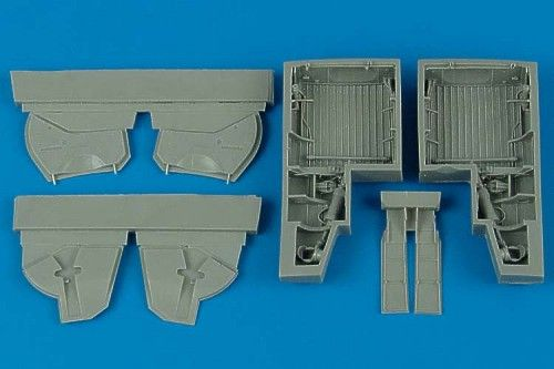 Aires 1/48 Republic P-47D Thunderbolt Wheel Bays # 4466