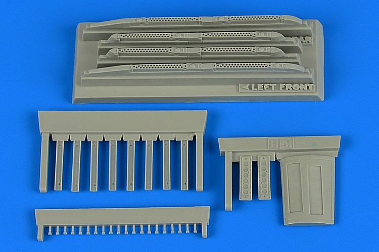 Aires 1/48 Sukhoi Su-17M3/M4 'Fitter-K' Covered Chaff/Flare Dispensers # 4747