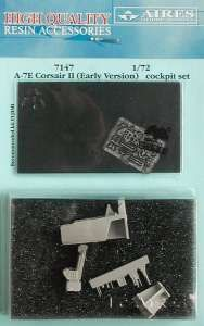 Aires 1/72  A-7E Corsair II (Early Version) Cockpit Set # 7147
