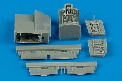 Aires 1/72 AV-8B Harrier wheel bay # 7177