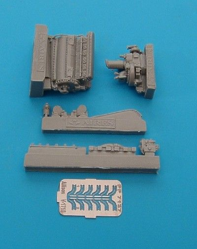 Aires 1/72  Allison V-1710-85 Engine # 7127