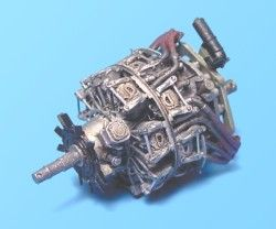 Aires 1/72  BMW 801D Engine # 7073