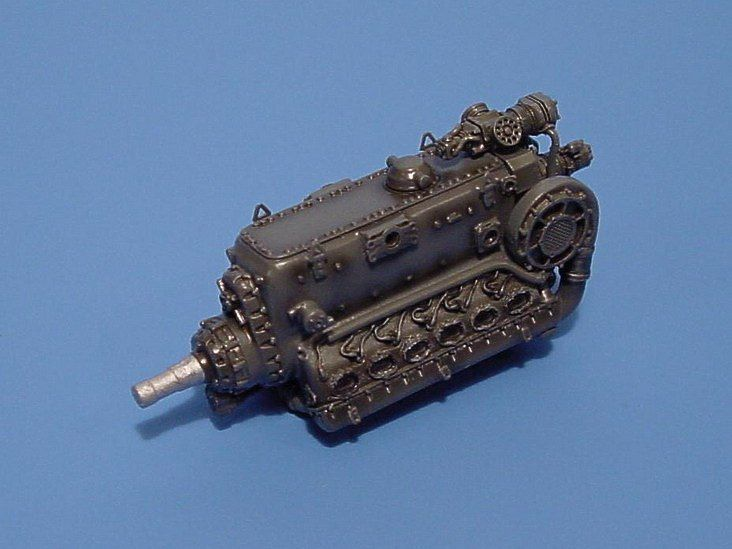 Aires 1/72  Daimler Benz DB605A/B Engine # 7087