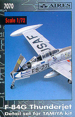 Aires 1/72  F-84G Thunderjet Detail Set # 7070