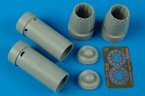 Aires 1/72 F/A-18D Hornet Exhaust Nozzles Closed # 7199