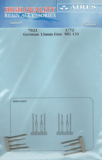 Aires 1/72  German 13mm MG131 Guns # 7021