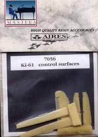 Aires 1/72  Kawasaki Ki-61 Control Surfaces # 7056