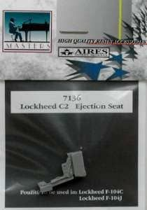 Aires 1/72  Lockheed C2 Ejection Seat # 7136