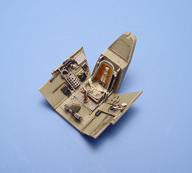 Aires 1/72  Messerschmitt Bf109E-3/4 Cockpit Set # 7081