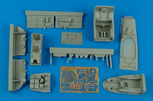 Aires 1/72 Messerschmitt Me-410B-2/U4 Cockpit Set # 4585