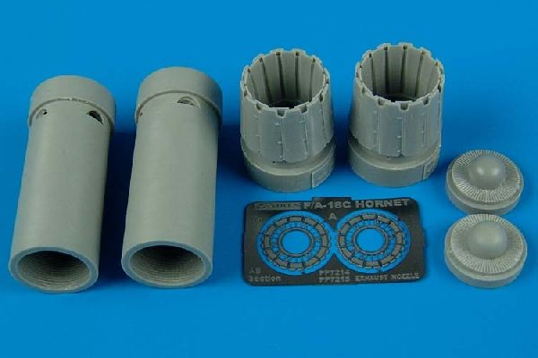 Aires 1/72  Sukhoi Su-27 Flanker B Exhaust Nozzles # 7144