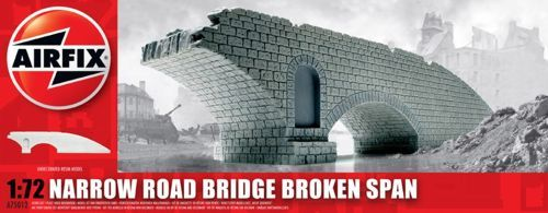 Airfix 1/72 Narrow Road Bridge Broken Span # A75012