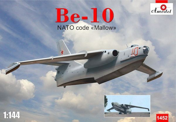 Amodel 1/144 Beriev Be-10 'Mallow' Flying Boat # 14452