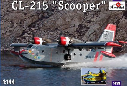 Amodel 1/144 Canadair CL-215 Scooper # 1453