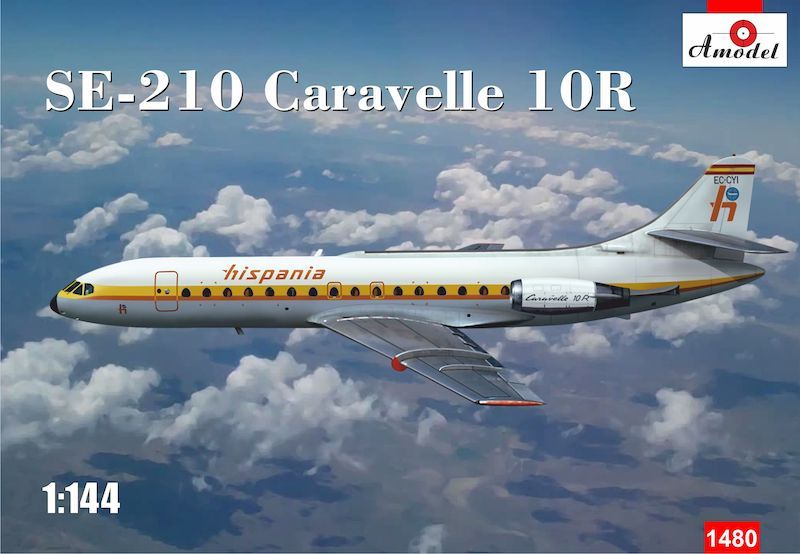 Amodel 1/144 Sud-Aviation SE-210 Caravelle 10R 'Hispania' # 1480