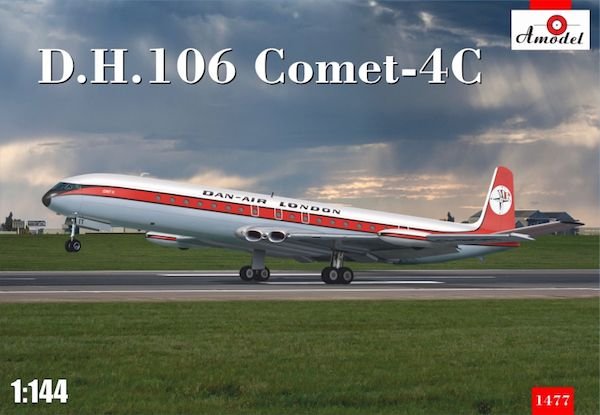 Amodel 1/144 de Havilland 106 Comet 4C Dan Air London # 14477