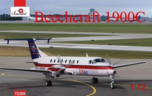 Amodel 1/72 Beechcraft 1900C US Air Express N-31134 # 72308