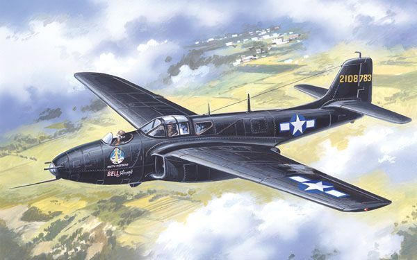 Amodel 1/72 Bell XP/YP-59 Airacomet # 72152