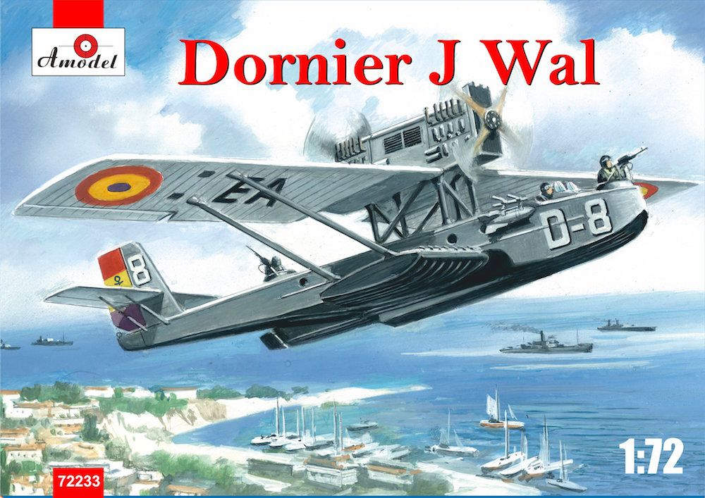 Amodel 1/72 Dornier Do-J Wal Spain Republican Air Force # 72233