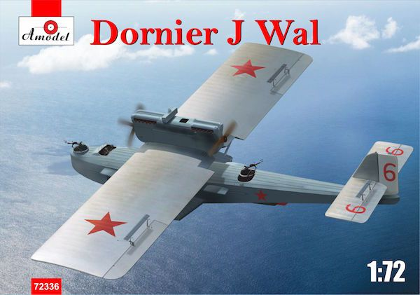 Amodel 1/72 Dornier Do.J Wal Flying Boat # 72336