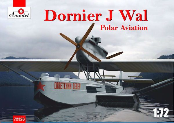 Amodel 1/72 Dornier Do.J Wal Polar Aviation Flying Boat # 72326
