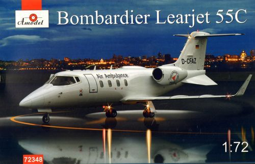 Amodel 1/72 Gates Learjet-55C # 72348