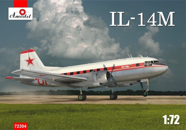 "Amodel 1/72 Ilyushin Il-14М (Late Version) ""Crate"" # 72304"