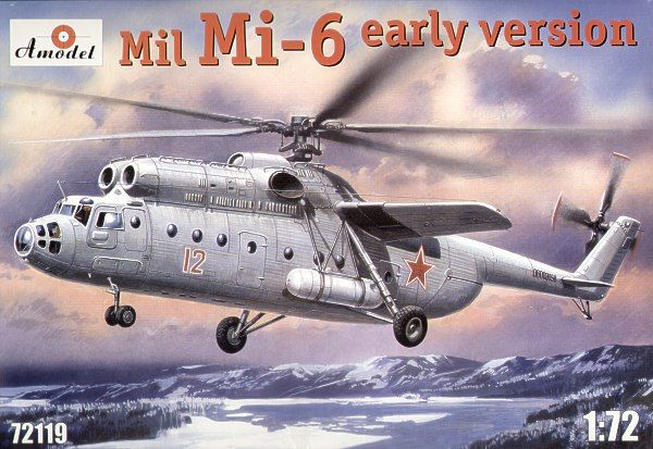 Amodel 1/72 Mil Mi-6 early version # 72119