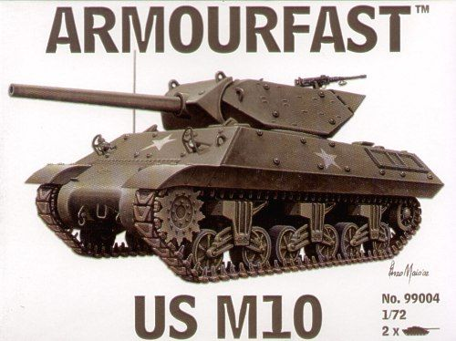 Armourfast 1/72 M10 US Tank Destroyer # 99004
