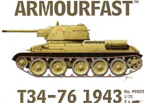 Armourfast 1/72 T-34/76 1943 # 99022