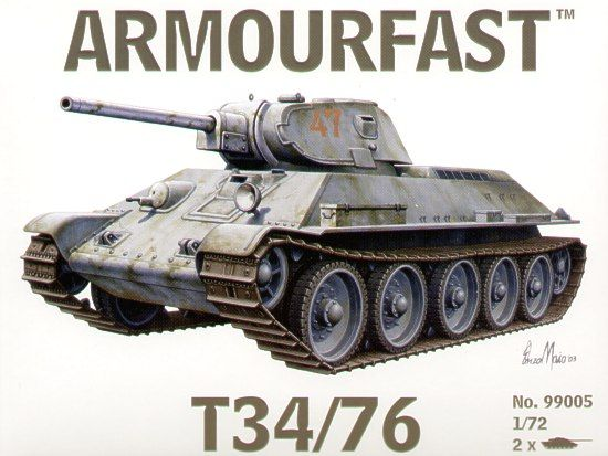 Armourfast 1/72 T-34/76 # 99005
