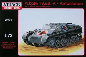 Attack 1/72 Pz.Kpfw. I Ausf. A Ambulance # 72871