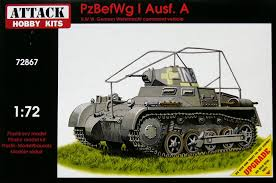 Attack 1/72 PzBefWg I Ausf A # 72867