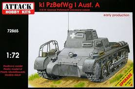 Attack 1/72 kl PzBefWg I Ausf A Command Vehicle # 72865