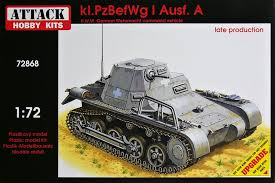 Attack 1/72 kl.PzBefWg I Ausf A late production # 72868