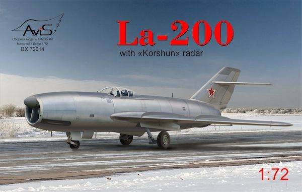 "Avis 1/72 Lavochkin La-200 with ""Korshun"" Radar # 72014"