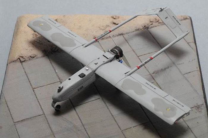 Brengun 1/72 RQ-7B Shadow UAV Unmanned Plane Resin Kit # S72011